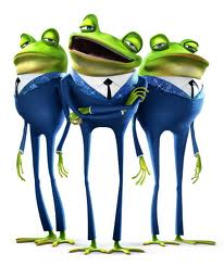 meet the robinsons singing frogs in mud
