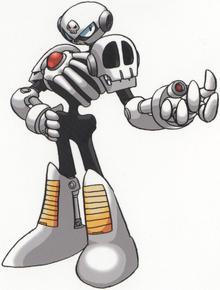 MegamixSkullMan
