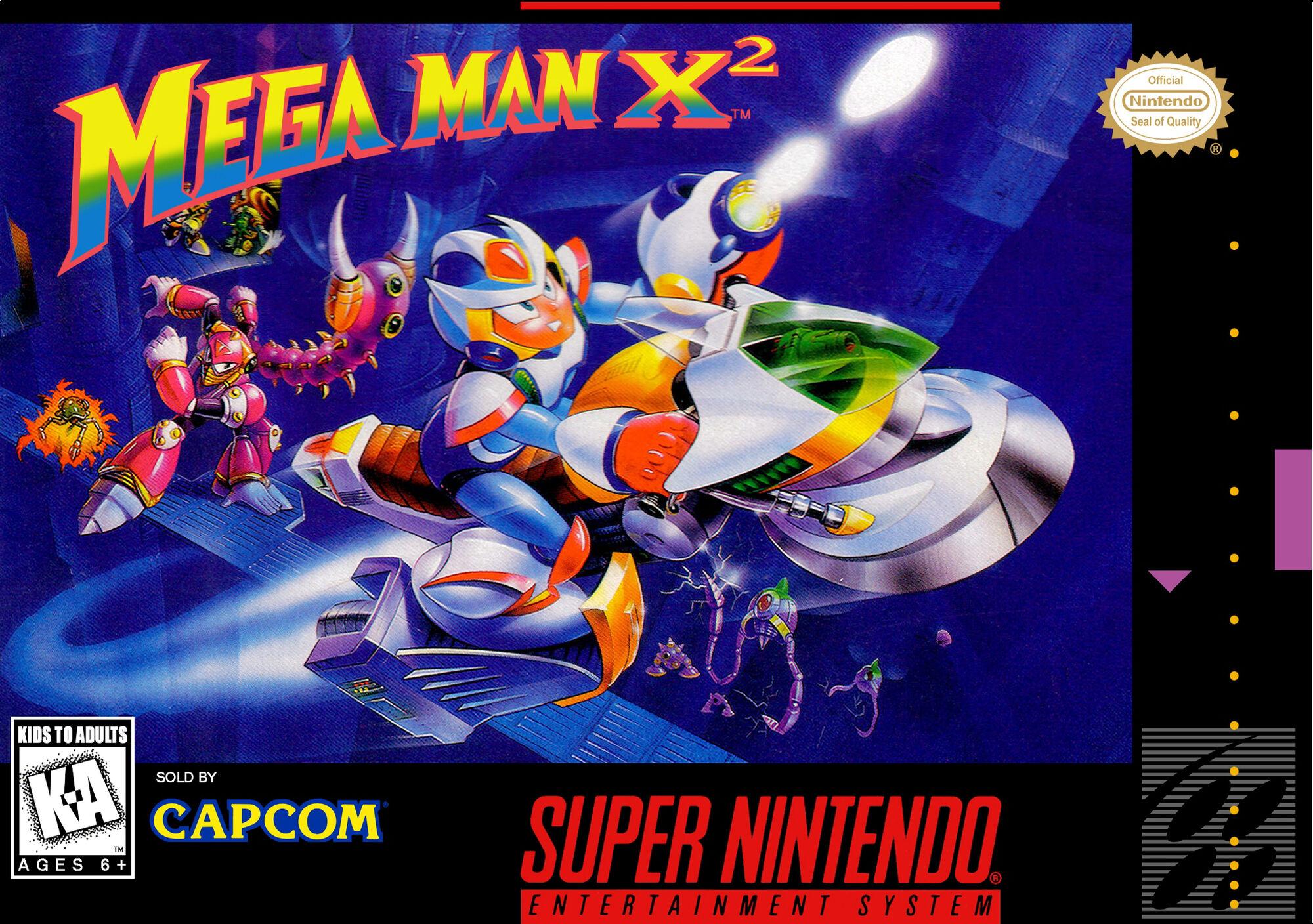 Image Mega Man X2 Box Art Jpg Mmkb Fandom Powered By