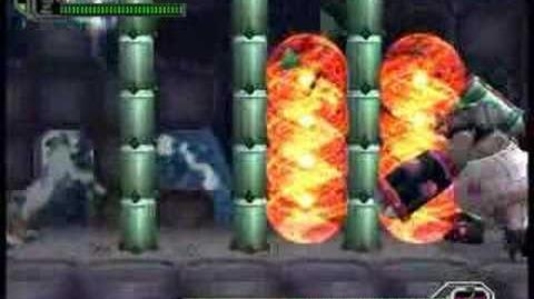 Megaman X8 Boss Bamboo Pandamonium Hard mode no damage