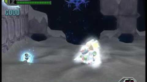 Megaman X8 Boss Avalanche Yeti Hard mode no wall no damage