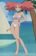 Maddy wearing bikini
