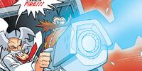 Egg-Wily Uppity Robot Scrambler Cannon