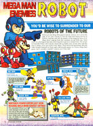 Nintendo Power Robot Masters Page 1