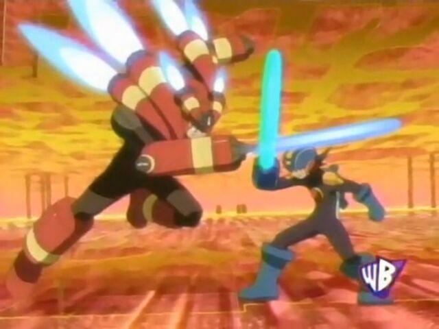 File:Mega Man Vs Burner Man.jpg