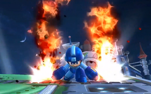 Mega Man Flame Blast SSB4