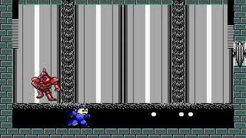 MegaMan 3 DOS - Oil Man Battle!