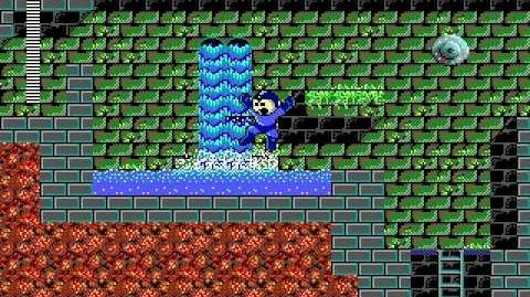 Mega Man 3 PC DOS Stage 2 - Torch Man