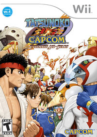 Tatsunoko vs. Capcom cover