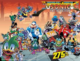 Sonic The Hedgehog -275 (variant 2)