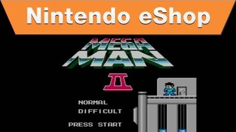 Nintendo eShop - Mega Man 2 Trailer