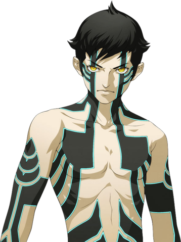 File:Artwork of Demi-God for Shin Megami Tensei IV Final DLC.png