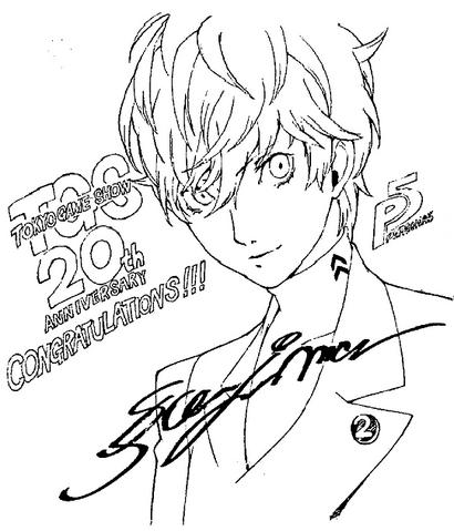 File:P5 Protagonist TGS 2016 by Soejima.png