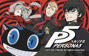 P5 manga cover