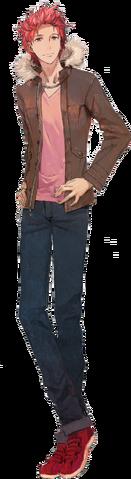 File:Shin Megami Tensei x Fire Emblem Toma Akagi.png