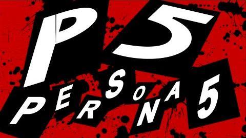 Persona 5 Intro