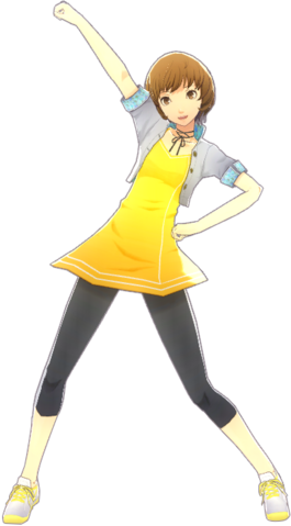 File:P4D Chie Satonaka Summer Vacation Clothes (Limited Edition Included - DLC) change.png
