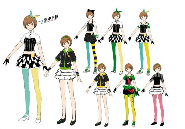 File:P4D Official Visual Visual Book Original Stage Costume for Chie, 02.jpg