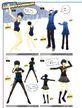P4D Naoto's Costume Coordinate 05