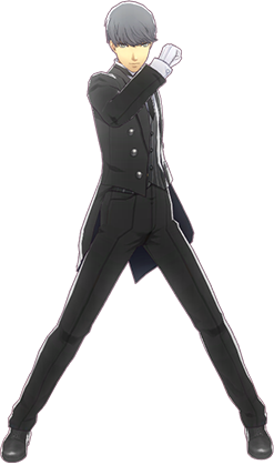 File:P4D Yu Narukami butler outfit change.PNG