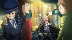 Kanji Tatsumi (Persona 4 Arena, Story Mode Illustration, 4)