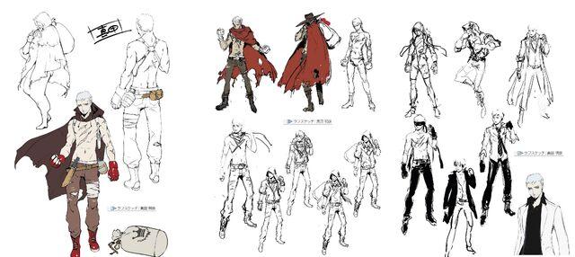 File:Akihiko Sanada Concept, Official, and Epilogue P4AU.jpg