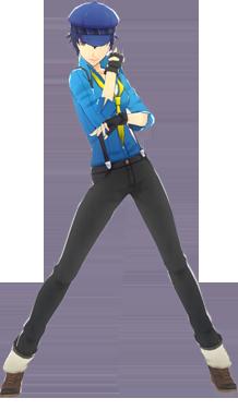 File:P4D Naoto Shirogane default outfit change.png