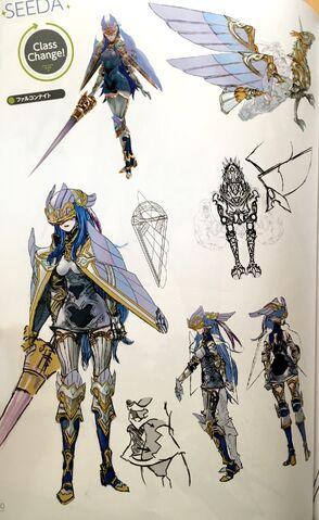 File:TMS concept art of Caeda as a Falcon Knight class.jpg