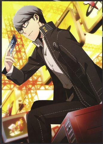 File:Persona 4 character artwork Yu 3.jpeg