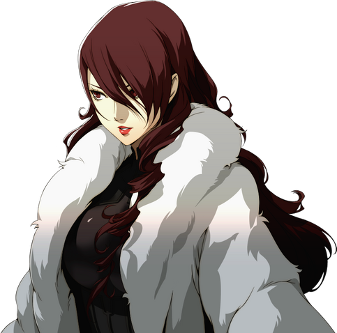 File:Mitsuru protrait in Persona 4 Arena.png
