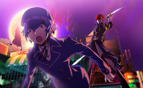 File:P4AU (P4 Mode, Naoto get attack by Minazuki).png