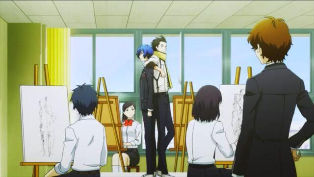 File:Keisuke Hiraga makes a cameo appearances in P3M.jpg
