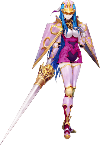 File:Shin Megami Tensei x Fire Emblem Caeda.png