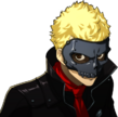 P5 portrait of Ryuji's phantom thief outfit