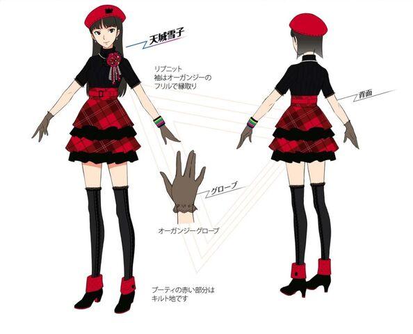 File:P4D Official Visual Visual Book Original Stage Costume for Yukiko.jpg