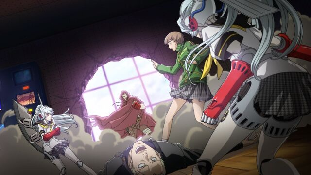 File:Chie Satonaka(Persona 4 Arena, Story Mode Illustration, 2).jpg