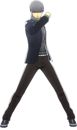 File:P4D Yu Narukami winter outfit change.PNG