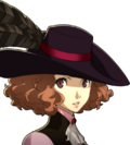 P5 portrait of Haru Okumura's phantom thief outfit without mask.png