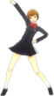 P4D Chie Satonaka Gekkou Uniform (Limited Edition Included - DLC) change
