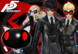P5 Persona 4 Arena Ultimax Costumes DLC