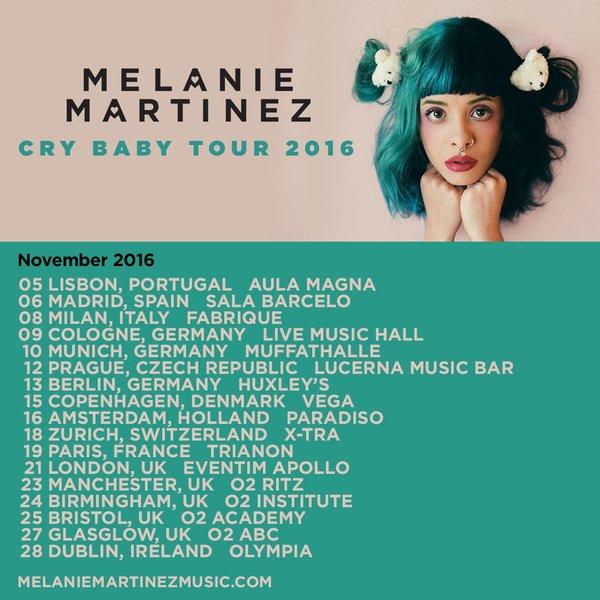 11 12 16 At Lucerna Music Bar Melanie Martinez Wiki