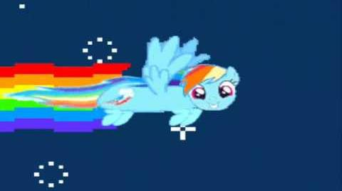 Nyan Rainbow Dash