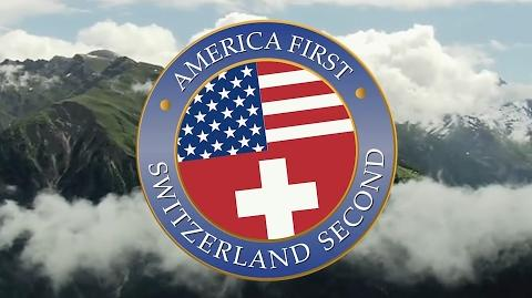 America First, SWITZERLAND SECOND EverySecondCounts