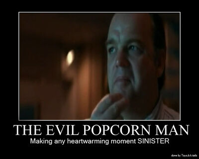 The Evil Popcorn Man by TayobkTailz