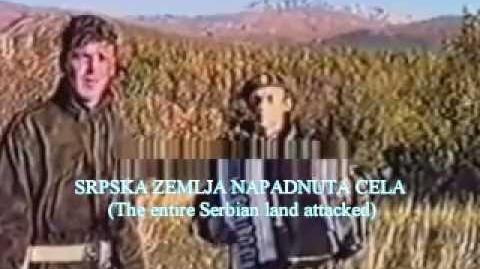 Serbia Strong translation (God is a Serb)