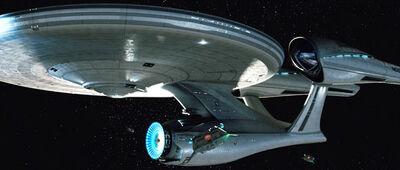 L'Enterprise NCC-1701 di Star Trek XI