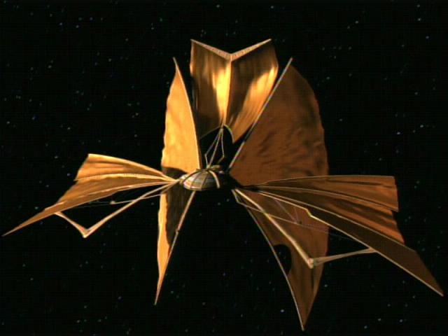 A solar spaceship