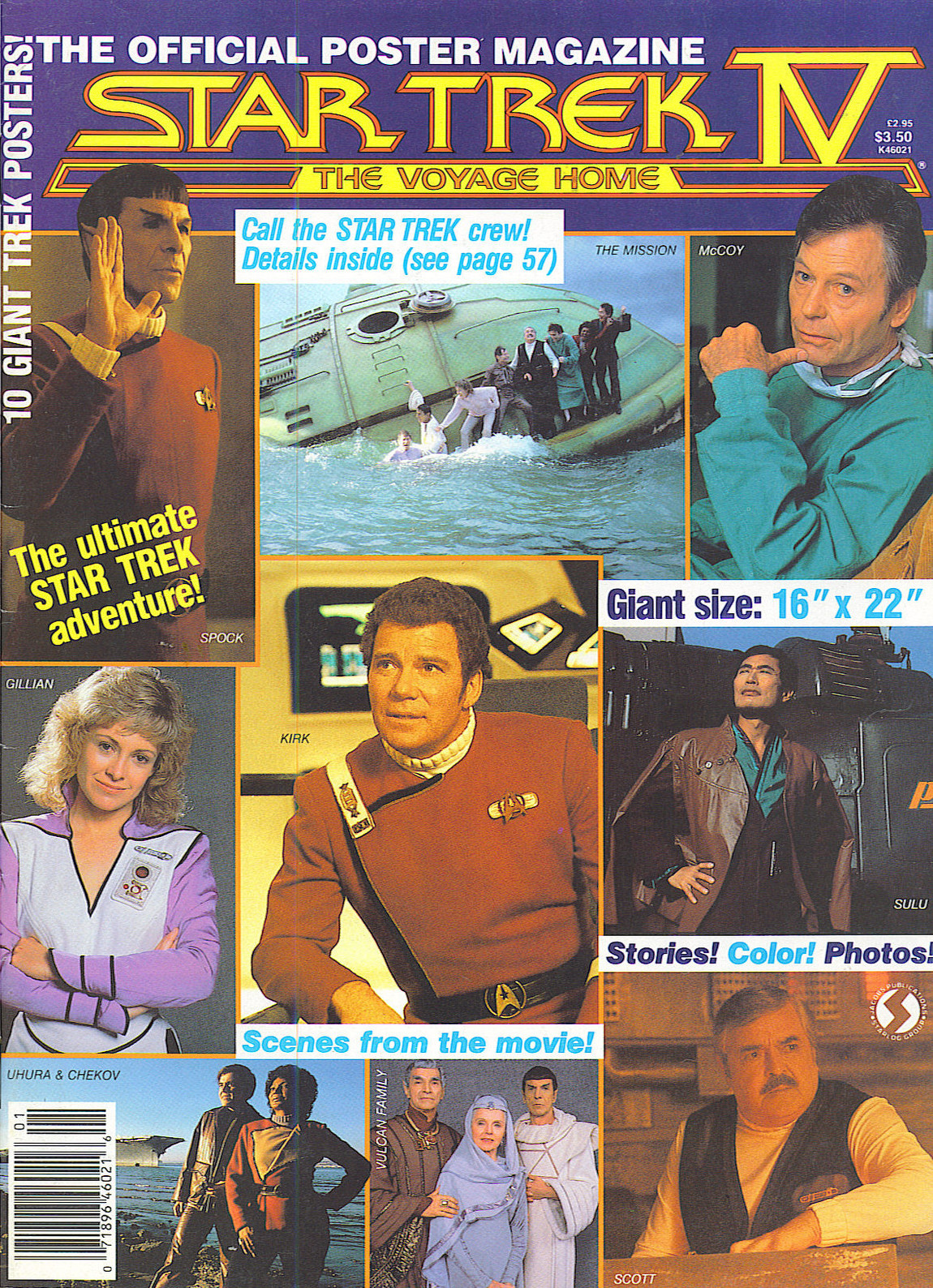 Star Trek IV: The Voyage Home - The Official Poster ...