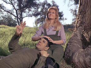 Spock and Leila Kalomi