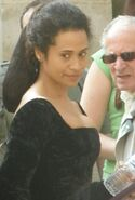 Angel Coulby Behind The Scenes Series 5-2